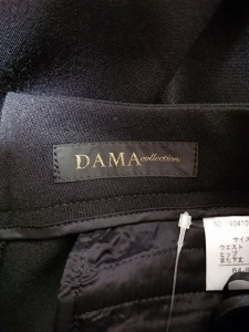 ダーマコレクション DAMAcollection パンツ レディース 黒【中古】