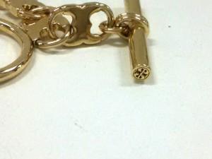 トリーバーチ TORY BURCH ネックレス 美品 金属素材 ゴールド【中古】