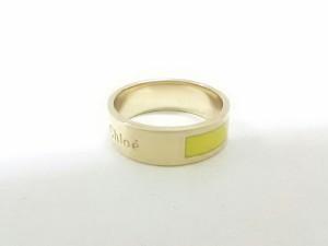 クロエ Chloe リング 美品 2R0442-AY4 金属素材 ゴールド×イエロー【中古】