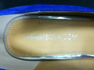 マレユーエスエー MARAISUSA パンプス 8 レディース 新品同様 ブルー×シルバー スエード【中古】