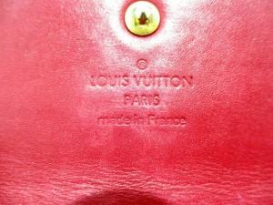 ルイヴィトン LOUIS VUITTON 長財布 モノグラムヴェルニ 美品 ポルトフォイユ・サラ M93530 ポムダムール【中古】