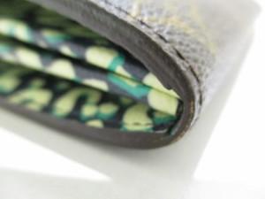 ルイヴィトン 長財布 モノグラムレオパード ポルトフォイユ・サラレオパード M60104 ブルーアンフィニ モノグラム・キャンバス【中古】