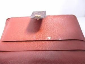 ルイヴィトン LOUIS VUITTON 2つ折り財布 モノグラム ポルト パピエ・ジップ M61207 モノグラム・キャンバス【中古】