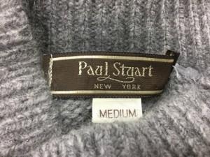 ポールスチュアート PaulStuart 半袖セーター サイズM レディース グレー【中古】