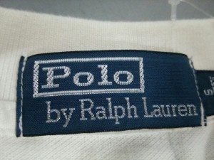 ポロラルフローレン POLObyRalphLauren 半袖ポロシャツ サイズS メンズ ビッグポニー アイボリー【中古】