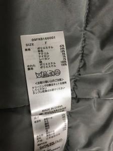 ミラオーウェン Mila Owen コート サイズF レディース 美品 ライトグレー 冬物【中古】
