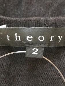 セオリー theory カーディガン サイズ2 S レディース 黒【中古】