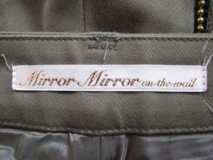 ミラーミラーオンザウォール MirrorMirror on the Wall ショートパンツ サイズ36 S レディース カーキ【中古】