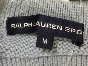 ラルフローレンスポーツ RALPHLAUREN SPORT ベスト サイズM レディース ライトブルー ニット【中古】