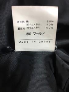 インディビ INDIVI トレンチコート サイズ38 M レディース 黒 冬物【中古】