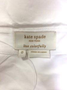 ケイトスペード Kate spade 長袖シャツブラウス サイズ0 XS レディース 白【中古】