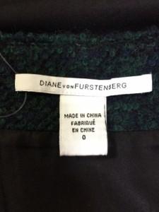 ダイアン・フォン・ファステンバーグ DIANE VON FURSTENBERG(DVF) スカート サイズ0 XS レディース ダークグリーン【中古】