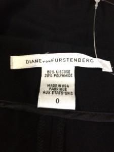 ダイアン・フォン・ファステンバーグ DIANE VON FURSTENBERG(DVF) パンツ サイズ0 XS レディース 黒【中古】