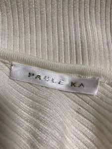 ポールカ PAULEKA 長袖セーター レディース アイボリー【中古】
