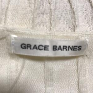 グレースバーンズ GRACE BARNES カーディガン サイズサイズ M レディース 美品 アイボリー スパンコール/ビーズ【中古】