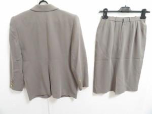 レリアン Leilian スカートスーツ サイズ9 M レディース グレー【中古】