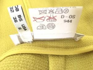 ジェニー GENNY スカートスーツ レディース ライトイエロー【中古】