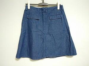 ビームスボーイ BEAMSBOY スカート サイズ1 S レディース 美品 ネイビー デニム【中古】