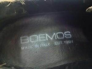 ボエモス BOEMOS シューズ 35 レディース 美品 ベージュ×ブラウン×ダークブラウン 豹柄 ハラコ【中古】