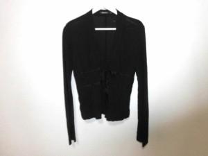 ダナキャラン DKNY ジャケット サイズS レディース 美品 黒 クログランテープ【中古】