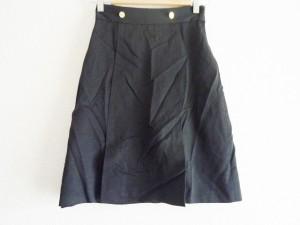 グッチ GUCCI スカート サイズ38 S レディース 黒【中古】