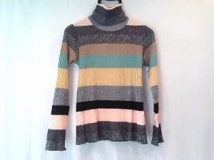 ムチャチャ muchacha 長袖セーター サイズ1 S レディース 美品 マルチ ハイネック【中古】
