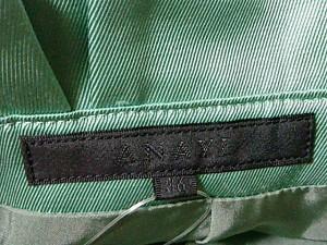 アナイ ANAYI スカート サイズ36 S レディース 美品 グリーン【中古】
