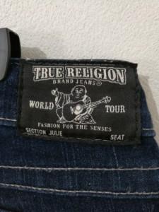 トゥルーレリジョン TRUE RELIGION ジーンズ レディース ネイビー【中古】