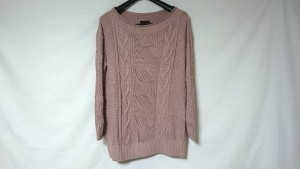 スマートピンク smartpink 長袖セーター サイズ42 L レディース ピンク【中古】