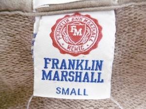 フランクリンアンドマーシャル FRANKLIN&MARSHALL パーカー サイズS メンズ カーキ×ダークブラウン×ベージュブラウン 迷彩柄【中古】
