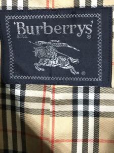 バーバリーズ Burberry's コート メンズ 美品 ダークグレー 冬物【中古】