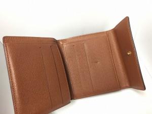 ルイヴィトン LOUIS VUITTON Wホック財布 モノグラム ポルト モネ・ビエ カルト クレディ M61652【中古】