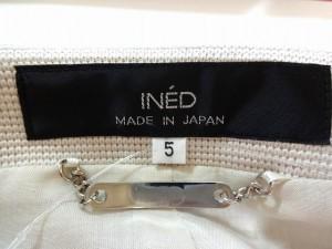 イネド INED ジャケット サイズ5 XS レディース ベージュ【中古】