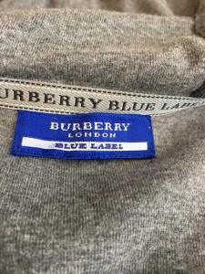 バーバリーブルーレーベル Burberry Blue Label ワンピース サイズ38 M レディース 美品 グレー×黒【中古】