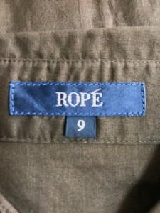 ロペ ROPE チュニック レディース ダークブラウン シャツワンピ/プリーツ【中古】