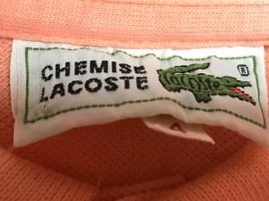 ラコステ Lacoste 半袖ポロシャツ サイズ4 XL メンズ オレンジ【中古】