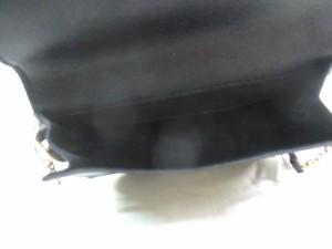 スナイデル snidel ショルダーバッグ 黒×白 花柄 合皮【中古】