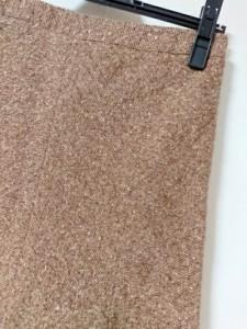 フラジール FRAGILE スカート サイズ38 M レディース ダークブラウン×アイボリー×マルチ ラメ/フリンジ【中古】