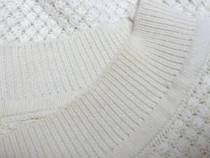 マリリンムーン MARILYN MOON 七分袖セーター レディース アイボリー【中古】