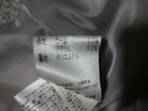 ルジュール LEJOUR ブルゾン サイズ38 M レディース ライトグレー 冬物【中古】