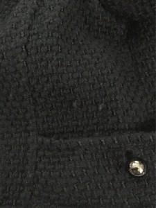 ジネス Jines コート サイズ38 M レディース 黒 冬物【中古】