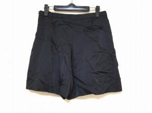 トゥモローランド TOMORROWLAND ショートパンツ サイズ38 M レディース 美品 黒【中古】