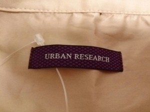 アーバンリサーチ URBAN RESEARCH ワンピース サイズ1 S レディース 美品 ベージュ【中古】