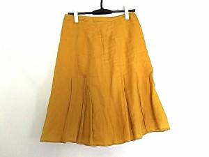 アルチザン ARTISAN スカート レディース 美品 オレンジ【中古】