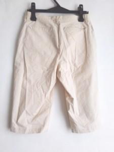 ピッコーネ PICONE パンツ サイズ38 S レディース 美品 ベージュ×アイボリー チェック柄【中古】