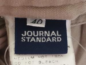 ジャーナルスタンダード JOURNALSTANDARD パンツ サイズ40 M レディース カーキ【中古】