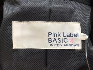 ユナイテッドアローズ UNITED ARROWS Pコート サイズS レディース ダークネイビー Pink Label BASIC/冬物【中古】