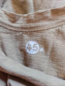 フォーティーファイブアールピーエム 45rpm 長袖Tシャツ サイズ2 M レディース カーキ【中古】