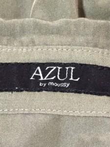 アズールバイマウジー AZUL by moussy 長袖シャツブラウス レディース 美品 ダークグリーン【中古】