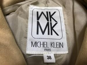 ミッシェルクラン MICHELKLEIN ブルゾン レディース ベージュ ジップアップ【中古】
